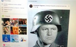 Klaus Iohannis, trucaj cu simboluri naziste