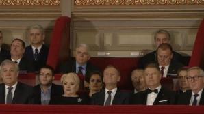 """Ministrul Culturii, despre prezența lui Severin în loja de la Ateneu: """"Ce voiați, să stea pe scări?"""""""