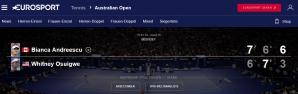 <p>Bianca Andreescu, în turul doi la Australian Open</p>