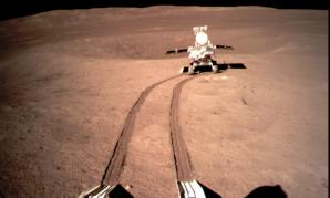 Roverul Chinei, pe Lună