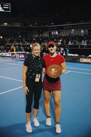 Bianca Andreescu, în turul doi la Australian Open