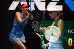 Maria Sharapova trece de Wozniacki la Australian Open 2019