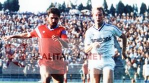 Hagi cu barba, la Steaua (1987)