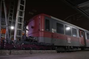 Accident grav, în Gara de Nord. Un tren a lovit zona de protecție a peronului / Foto: Inquam Photos / Octav Ganea