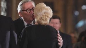 Jean Claude Juncker, tur de forță la București
