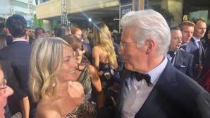 Nadia Comaneci si Richard Gere, la Golden Globes 2019