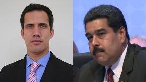 Nicolas Maduro si Juan Guaido