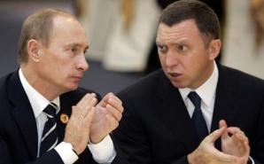 Vladimir Putin și Oleg Deripaska