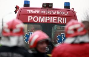 Explozie într-o garsonieră din Găești: o victimă