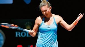Simona Halep, emoții la primul meci de la Australian Open