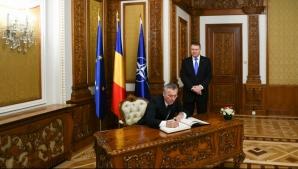 Mesajul șefului NATO, Jens Stoltenberg, pentru România / Foto: Administratia Prezidentiala