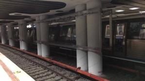 Tentativă sinucidere metrou