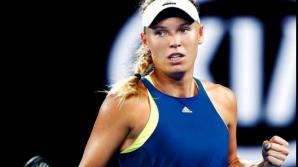 Wozniacki, învinsă de Bianca andreescu