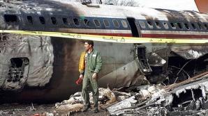 Avion prăbușit intrat într-o casă