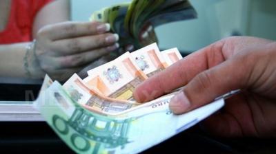 Euro a scăzut spre nivelul de 4,66 lei