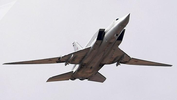 Un bombardier Tu-22M3 s-a prăbușit în Rusia