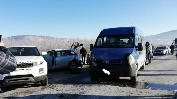 Accident DN 1 Brasov Sibiu
