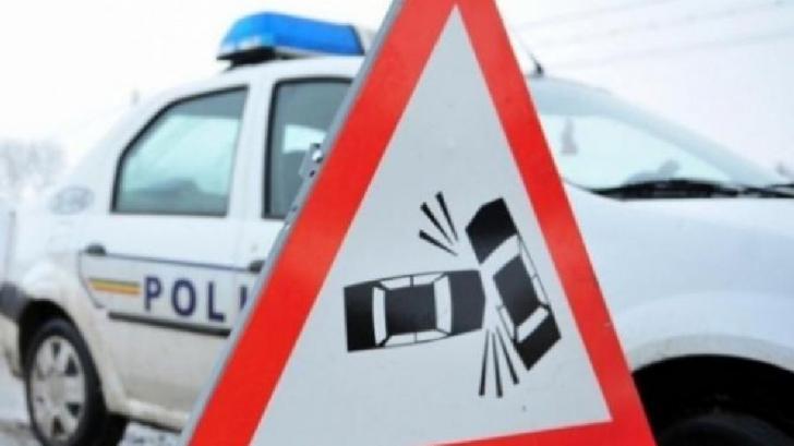 Ciocnire violentă la ieșire din Timișoara. Printre răniți se află și doi copii