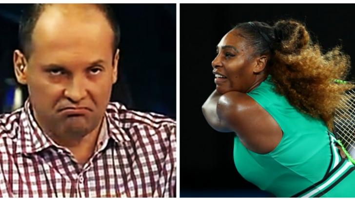 Radu Banciu, derapaj grobian + cum a comparat-o pe Serena Williams cu Ion Iliescu