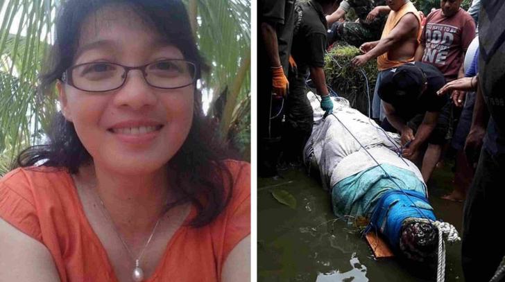 Această femeie a fost mâncată de vie de un crocodil uriaş