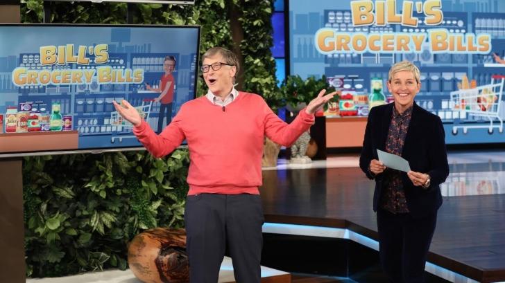 VIDEO Bill Gates nu știe cât costă alimentele