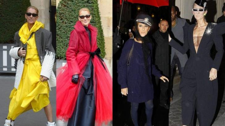 Celine Dion: mesajul secret pe care îl transmit ţinutele ei