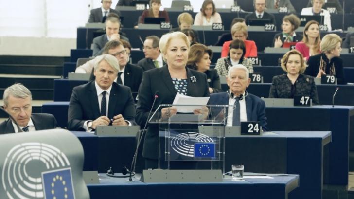 Suspendarea Realitatea TV, subiect de discuție în Parlamentul European. Poziția premierului Dăncilă / Foto: gov.ro