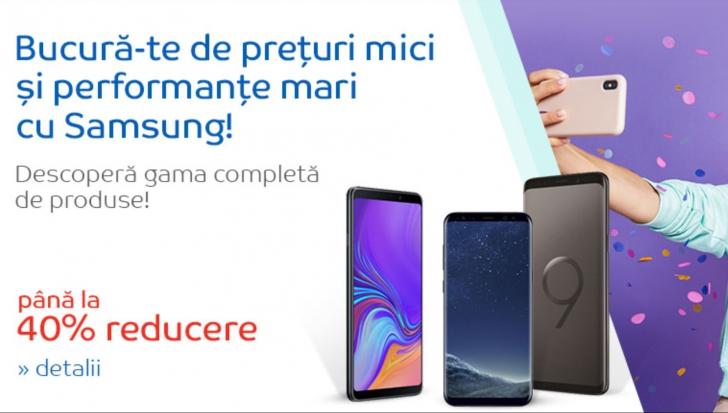 eMAG Samsung Galaxy - Reduceri de pana la 40% intr-o promotie unica
