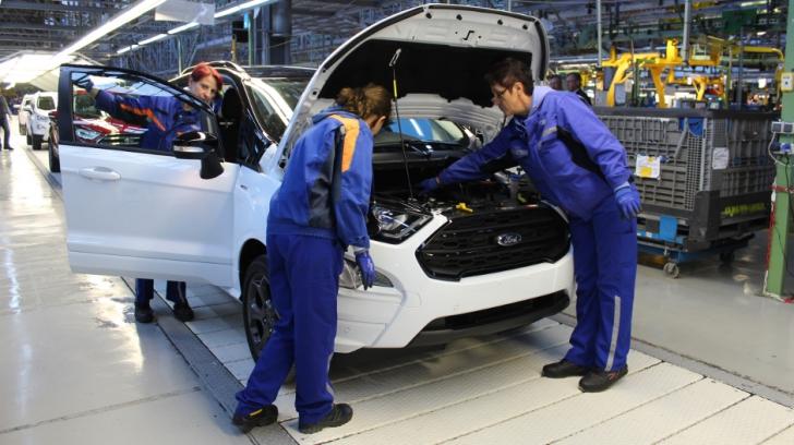 Ford Craiova și-a dublat vânzările anul trecut, în comparație cu 2017
