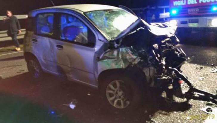 Patru români morți în Italia, într-un accident produs cu poliția pe urmele lor