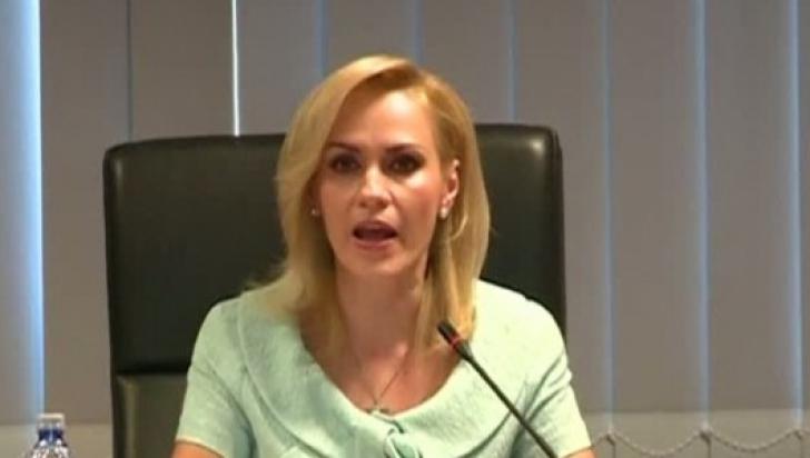 """Gabriela Firea, reacție furibundă după bătaia din Primărie: """"Domnul Dragnea să-și ia bătăușii"""""""