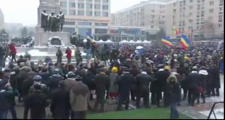 Liderii PSD, huiduiți la Iași, de Ziua Principatelor