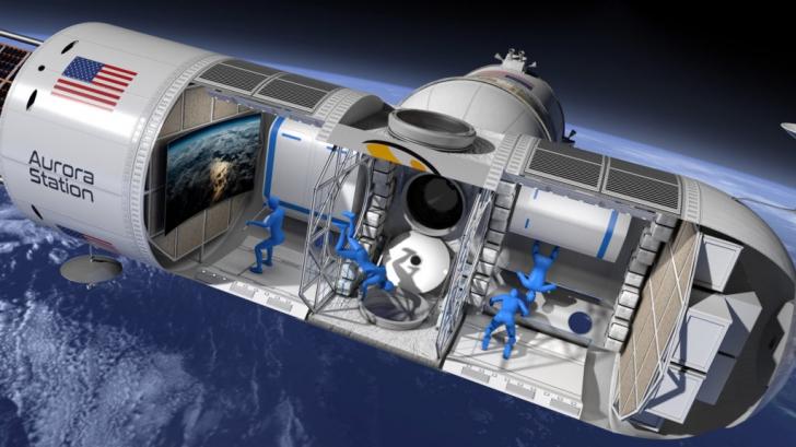 VIDEO Cum va arăta primul hotel amenajat într-o stație spațială și cât costă un sejur?