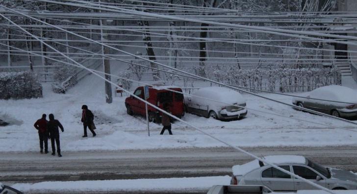 Brăila sub zăpadă