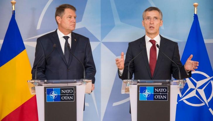 Iohannis, fata in fata cu Stoltenberg, secrearul NATO