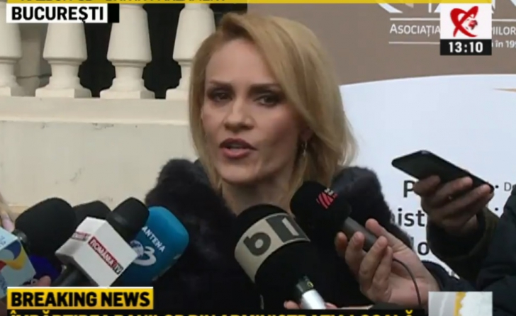 Gabriela Firea, 29 ianuarie 2019
