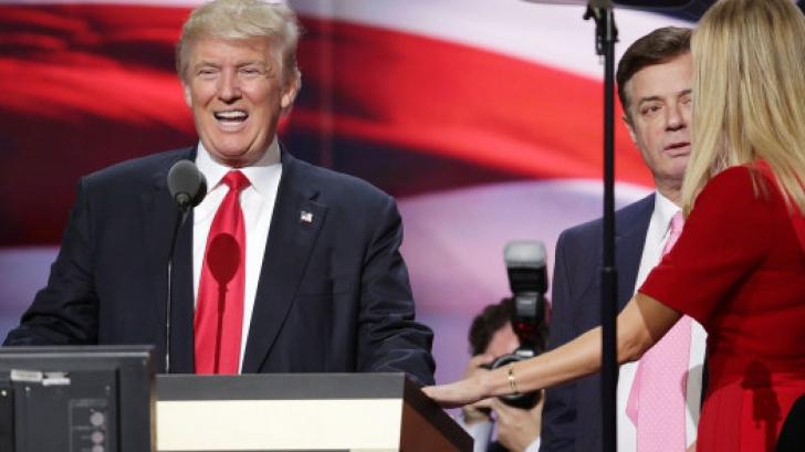 Trump, alături de Manafort, la un eveniment din campanie