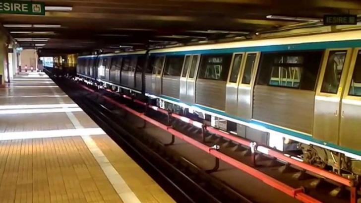 ALERTĂ. Accident cumplit la metrou. Intervenție în forță a autorităților