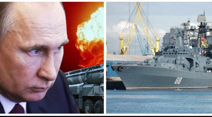 Rusia, nava de război la Marea Neagră