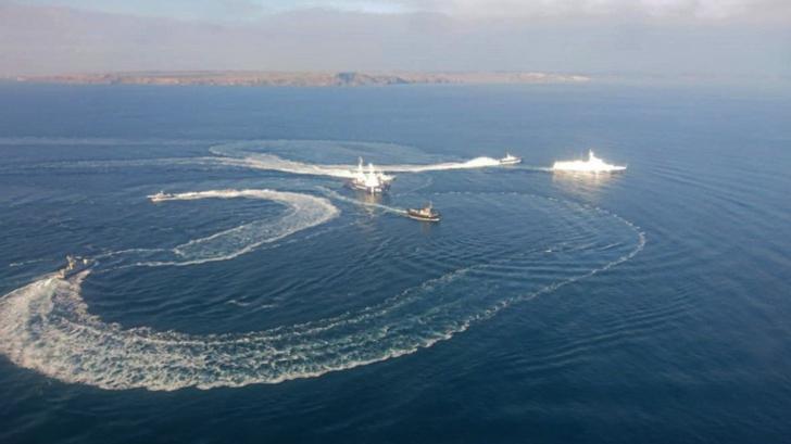 Ucraina, la un pas de război cu Rusia în Marea Neagră