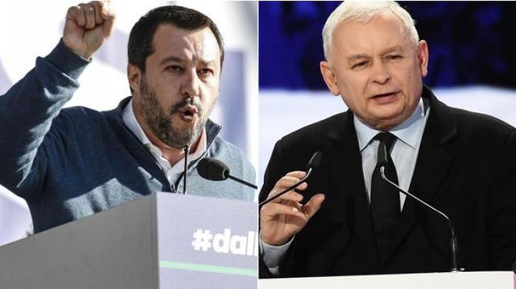 """Populiștii UE lansează """"axa italo-poloneză"""": """"Visul european a fost ucis la Bruxelles"""""""
