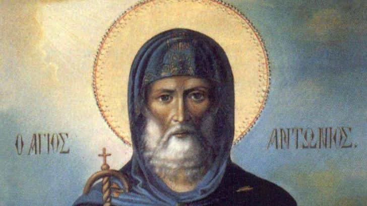 Sf Antonie cel Mare, sarbatoare 17 ianuarie 2019