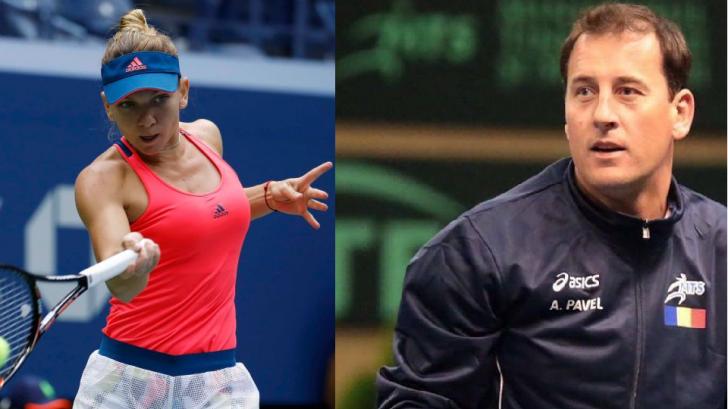Simona Halep: cum a reacţionat Andrei Pavel, după ce românca a pierdut locul 1 WTA
