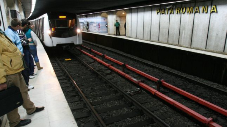 Sinucidere la metrou