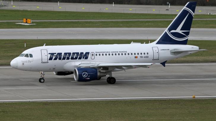 Un avion al TAROM a fost întors de URGENȚĂ din drum