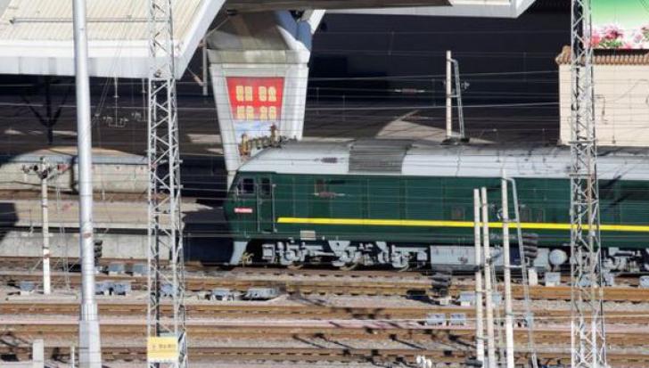 Cum arată trenul blindat cu care Kim Jong-un a intrat în China