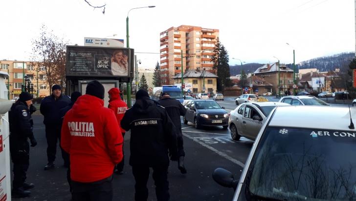 Tragedie în Brașov: un bărbat a murit într-un taxi