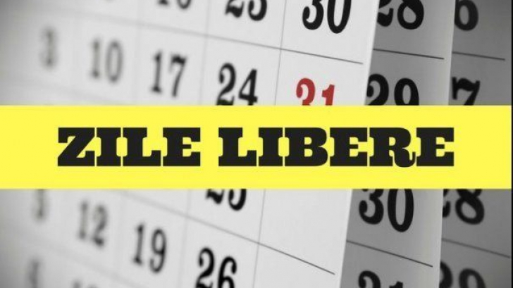 Zile libere 2019. Când vor pica, în acest an, cele 15 sărbători legale