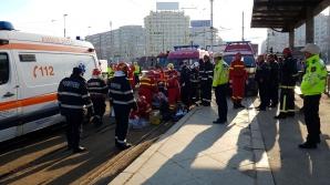 Accident în Capitală: Cinci maşini s-au ciocnit în Pasajul Obor. Trafic blocat
