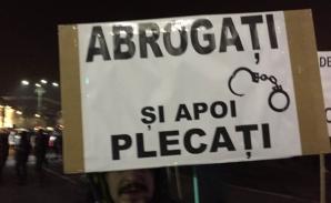 Protest anunțat pentru duminică, la Victoriei, după ordonanțele lui Toader / Foto: Facebook